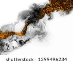 creative abstract hand painted...   Shutterstock . vector #1299496234