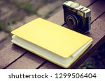 toned photo of vintage photo... | Shutterstock . vector #1299506404
