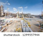 oil and gas refinery industrial ... | Shutterstock . vector #1299557944