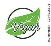 certified vegan product cruelty free logo. vector illustation