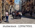istanbul  turkey   april 13 ... | Shutterstock . vector #1299679501