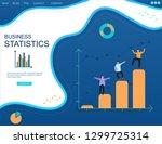 business intelligence.... | Shutterstock .eps vector #1299725314