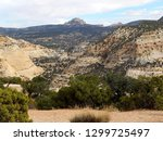 Deep desert gorges of the majestic Eagle Canyon at San Rafael Swell in Utah