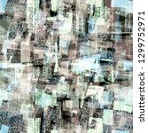blue and grey seamless texture... | Shutterstock .eps vector #1299752971
