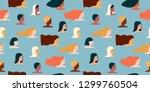 international womens day.... | Shutterstock .eps vector #1299760504