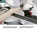 ircular table saw with wooden... | Shutterstock . vector #1299762577