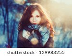 Outdoor Portrait Of Young...
