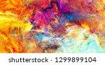 sunlight. bright dynamic... | Shutterstock . vector #1299899104