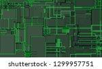 light futuristic concept ...   Shutterstock .eps vector #1299957751