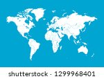 color world map vector | Shutterstock .eps vector #1299968401