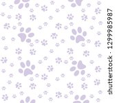 Light Purple Pappy Paws...