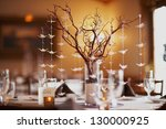 Wedding Table Setting With...