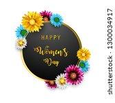 women's day  march 8. happy... | Shutterstock . vector #1300034917
