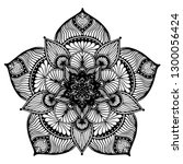 mandalas for coloring  book.... | Shutterstock .eps vector #1300056424