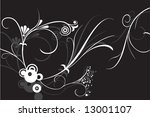 abstract flower ornament designs | Shutterstock . vector #13001107