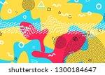 pop art color background....   Shutterstock .eps vector #1300184647
