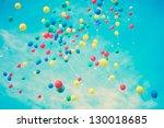 Summer Balloons Flying