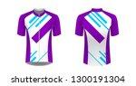 sportswear templates. designs... | Shutterstock .eps vector #1300191304