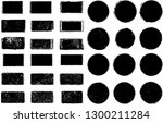 big collection of grunge post... | Shutterstock .eps vector #1300211284