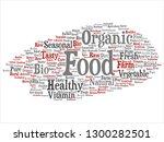 vector concept conceptual... | Shutterstock .eps vector #1300282501