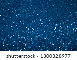 blue and white glitter texture... | Shutterstock . vector #1300328977