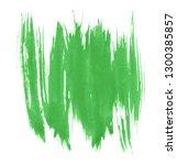 green watercolor hand drawn... | Shutterstock . vector #1300385857
