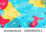 pop art color background....   Shutterstock .eps vector #1300403311