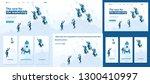 set template article  landing... | Shutterstock .eps vector #1300410997