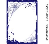 the vertical blank halloween... | Shutterstock .eps vector #1300432657