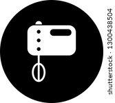 vector food mixer icon    Shutterstock .eps vector #1300438504