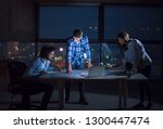 young team of business people... | Shutterstock . vector #1300447474