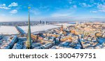 beautiful aerial panoramic view ... | Shutterstock . vector #1300479751