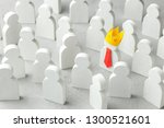 how to choose a leader from the ... | Shutterstock . vector #1300521601