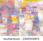 highly textured colorful... | Shutterstock . vector #1300543891