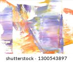 colorful abstract painting... | Shutterstock . vector #1300543897