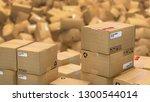 3d illustration of hundreds of... | Shutterstock . vector #1300544014