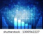 2d rendering stock market... | Shutterstock . vector #1300562227