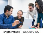 group of business people...   Shutterstock . vector #1300599427