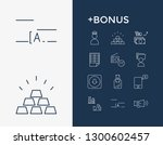commerce icon set and promotion ...
