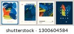 set of abstract creative... | Shutterstock .eps vector #1300604584