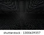 beautiful black abstract... | Shutterstock . vector #1300639357