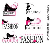 fashion woman silhouette... | Shutterstock .eps vector #130070699