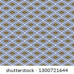 seamless  mosaic vector... | Shutterstock .eps vector #1300721644