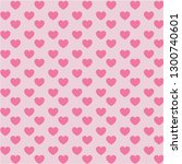 Pink Heart Background...