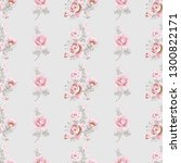 seamless pattern with rose... | Shutterstock .eps vector #1300822171