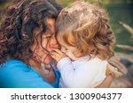 happy mother and daughter in...   Shutterstock . vector #1300904377
