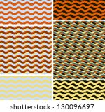 set of geometric seamless... | Shutterstock .eps vector #130096697