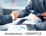 business handshake | Shutterstock . vector #130099715