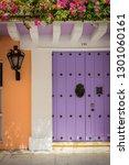 Lilac Door In The Historic...