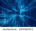 abstract background. digital... | Shutterstock . vector #1301069311